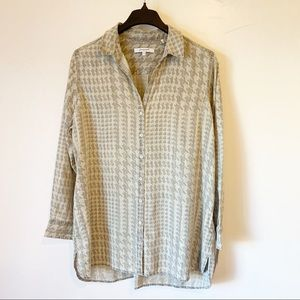Foxcroft Long Sleeve Button up Top
